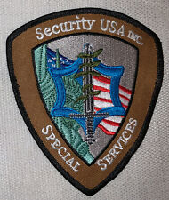 Security Services UNIFORM Employee PATCH  New