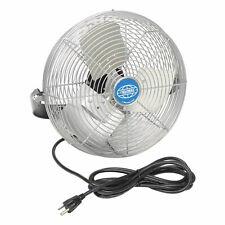 Global Industrial 12 Inch 3 Speed 360 Rotation Workbench Wall Mount Rotating Fan