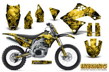KAWASAKI KXF450 KX450F 09-11 GRAPHICS KIT CREATORX DECALS INFERNO YNP