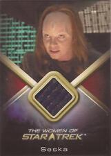 "Women of Star Trek - WCC24 Martha Hackett ""Seska"" Costume Card"
