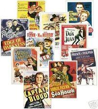 Errol Flynn Film Poster Trading Card Set