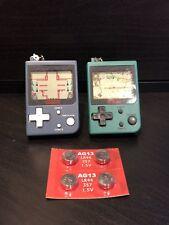 Nintendo Mini Classics Donkey Kong Jr & Mario's Cement Factory Keychain Lot of 2