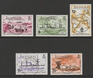 Ascension used 1979 Eastern Telegraph Company sg249-253