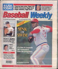 Lee Smith Cardinals Larry Anderson USA Today Baseball Weekly July 12 - 18 1991