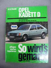 So wirds gemacht Nummer 21 Opel Kadett D Benzin Reparaturanleitung Etzold