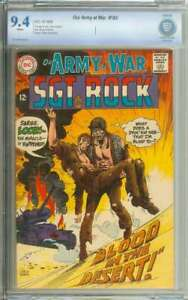 OUR ARMY AT WAR #193 CBCS 9.4 WHITE PAGES