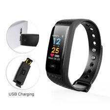 HD Color Screen Smart Bracelet Wristband Watch Heart Rate Blood Pressure/Oxygen