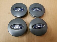 Ford OEM 2001-2007 Escape Charcoal Set Center Cap Hub Dust Cover YL84-1A096-FA