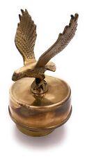 Vintage Rotating Brass Bird / Eagle / Hawk / Falcon Music Box