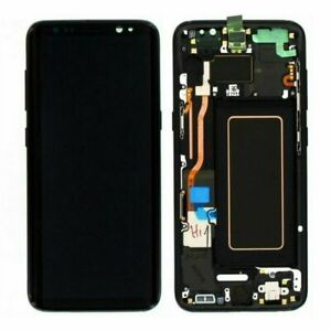 For Samsung Galaxy S8 LCD Screen Replacement Part Digitizer With Frame UK