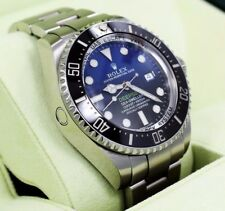 Rolex Sea-Dweller Deepsea 116660 blso James Cameron Nero BLUE BOX carte Nuovo di zecca