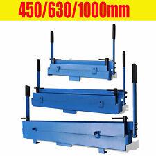 450/630/1000mm Manually Operated Metal Folding Machine 90°/120°/135° Bender Tool