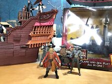 Pirates Of The Caribbean Davy Jones Human RARE +Bootstrap Maccus Davy Jones