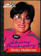 Shirley Muldowney Finish Line NHRA Authentic Hand Signed Autographed Card