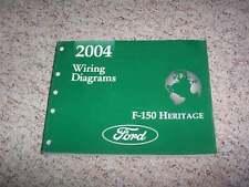 2004 Ford F150 Heritage Electrical Wiring Diagram Manual XL XLT Lighting V6 V8