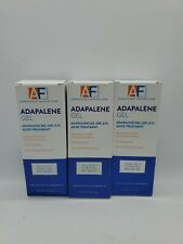 Lot of 3 AcneFree ADAPALENE Gel Topical Retinoid Acne Treatment Exp 9/21