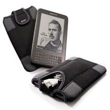 """E-volve neoprene sleeve for all Kindle Keyboard Touch / Paperwhite / 6"""" E-Ink"""