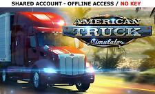 American Truck Simulator PC Complete [ALL 26 DLC] Steam OFFLINE-READ DESCRIPTION
