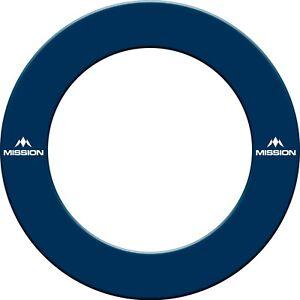 Mission Printed Dartboard Surrounds - Blue