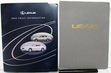 1989 Lexus LS 400 ES 250 & 2002 300 430 470 Series Press Kits Media Releases