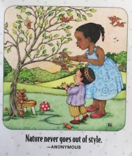 Mary Engelbreit Artwork-Nature Never Goes