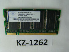 Nanya NT256D64SH8BAGM-6K 256Mb Pc2700 (DDR-333) DDR SDRAM SO DIMM #kz-1262