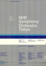"""Olympische Spiele 1972 München Motiv """"NHK Symphony Orchestra Tokyo"""" A0 ZUSTAND"""