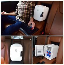 Car Mini Fridge Portable Electric Cooler & Warmer 4 Liter/6 Can USB AC/DC New