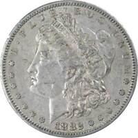 1882 S Morgan Dollar VF Very Fine 90% Silver $1 US Coin Collectible