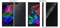 Razer Phone 1 / 2 RZ35-0215/0259 64GB AT&T OR GSM Unlocked Gaming Smartphone