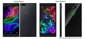 Razer Phone 1 / 2 | 64GB AT&T OR GSM Unlocked Gaming Smartphone RZ35-0215 / 0259