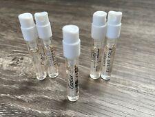 00006000 5 Cartier Baiser Vole 1.5ml Eau De Parfum Mini Sample Vial Purse Size Travel .