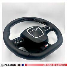 Aplati S-LINE Noir Volant Audi A3, A4, A5, A6, A8, q5, q7