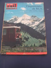 Vie du rail 1963 908 ARBRESLE FRAISSE UNIEUX FIRMINY BLS GOPPENSTEIN THOUNE