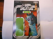 CARDBACK GREEDO STAR WARS LA GUERRA DE LAS GALAXIAS SPAIN SPANISH