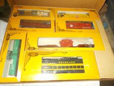 LIONEL Trains 1980 Limited Edition Mid Atlantic SEABOARD TRAIN SET Orig Boxes