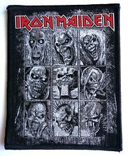 IRON MAIDEN - Eddie`s Incarnations  - Woven Patch Metal aufnäher écusson RARE