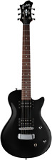 Hagstrom Ultra Swede ESN Electric Guitar - Black Gloss