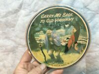 """1953 Record Guild PICTURE DISC 7"""" 45 Blue Tail Fly/Carry Me Back To Old Virginny"""