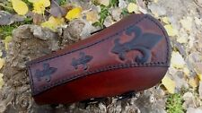 ARCHERY ARM GUARD / BRACER- HANDMADE- FLEUR DE LIS- NEW DESIGN!!!