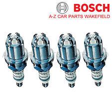 B858FR91X For Vauxhall Zafira 1.6 1.8 2.0 Turbo Bosch Super4 Spark Plugs X 4