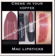 "Mac Authentic Lipstick ""creme  In Your Coffee "" Color"
