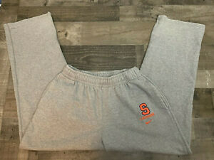 "Vintage Syracuse Lacrosse Nike Gray Sweatpants Size Large (32"") Mens"