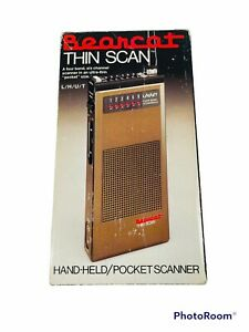 🔥 Bearcat Thin Scan • Hand Held Pocket Scanner • Model BC FOUR-SIX TS • Parts