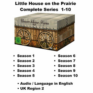 Little House on the Prairie Complete Series Season 1-10 DVD BoxSet Karen Grassle