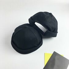 1X Skullcap Sailor Cap Hat Beanie Black Rolled Cuff Vintage Men Fashion Brimless