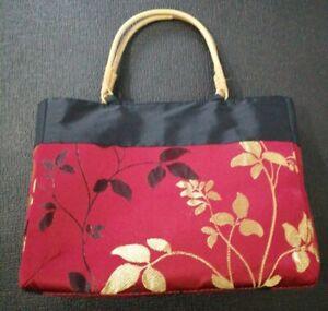 Malaysian Bag With Bamboo Handles