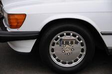 Mercedes R107  W126 Fuchsfelgen Räder Alufelgen Chromversion USA Gullideckel R15