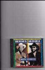 """HANK WILLIAMS, SR. & JR., CD """"BACK TO BACK"""" GOSPEL FAVORITES, NEW SEALED"""