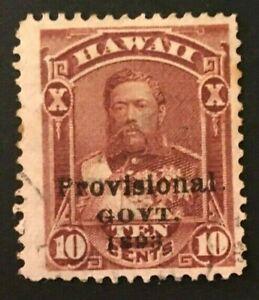HAWAII  SCOTT  #68     USED--LC